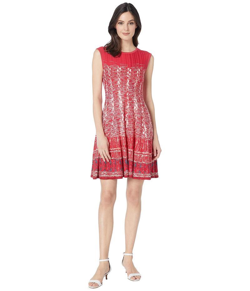 ニックプラスゾーイ レディース ワンピース トップス Garden Party Dress Cosmo Red