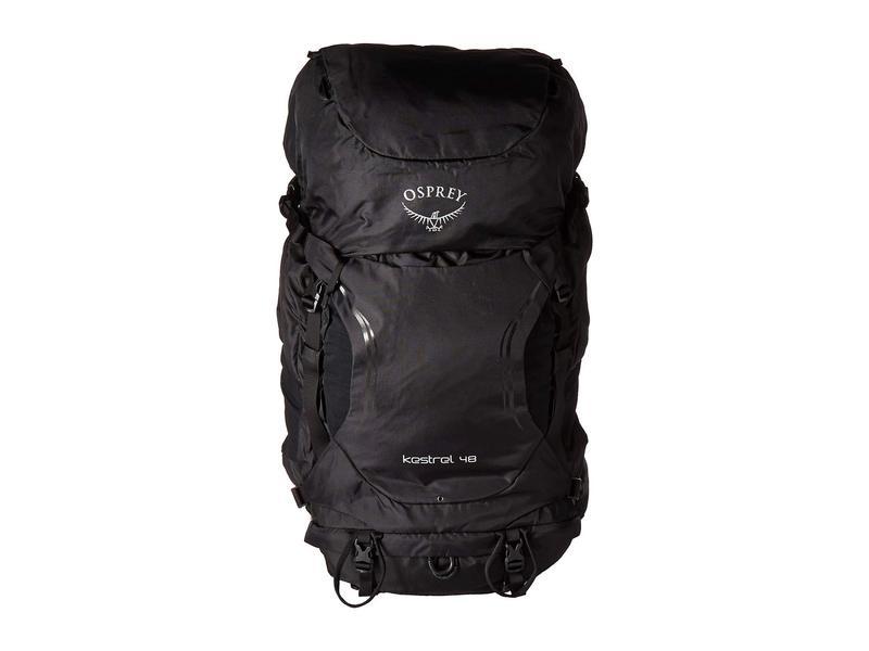 オスプレー メンズ バックパック・リュックサック バッグ Kestrel 48 Black
