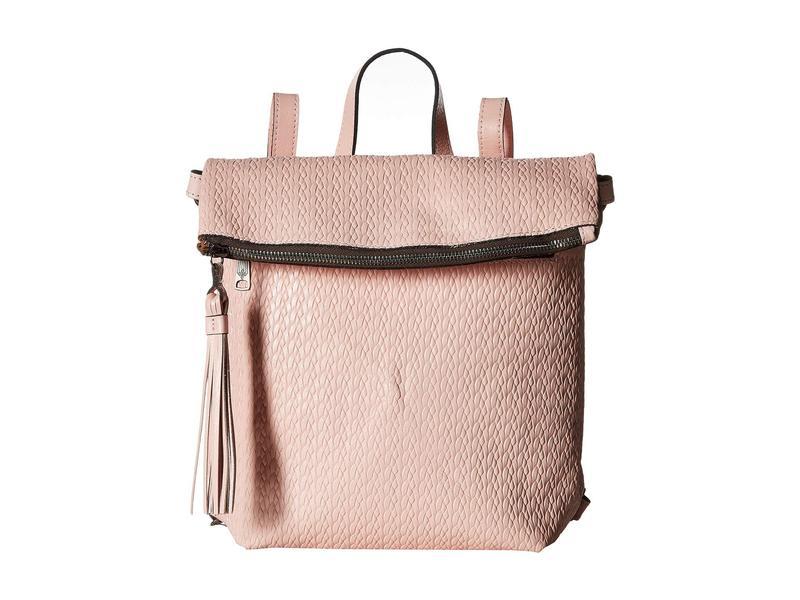 パトリシアナシュ レディース バックパック・リュックサック バッグ Twisted Woven Embossed Luzille Backpack Pink