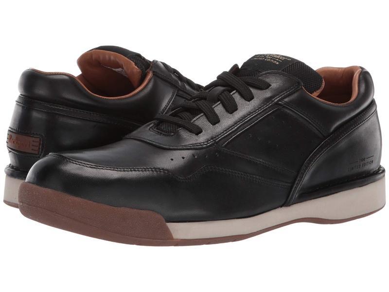 ロックポート メンズ スニーカー シューズ Prowalker 7100 LTD Black Burnished Leather