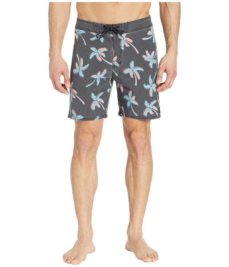 リップカール メンズ ハーフパンツ・ショーツ 水着 Mirage Party Boardshorts Black