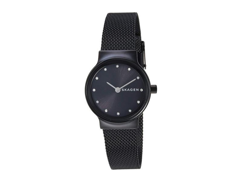 スカーゲン レディース 腕時計 アクセサリー Freja Crystal Markers - SKW2747 Black