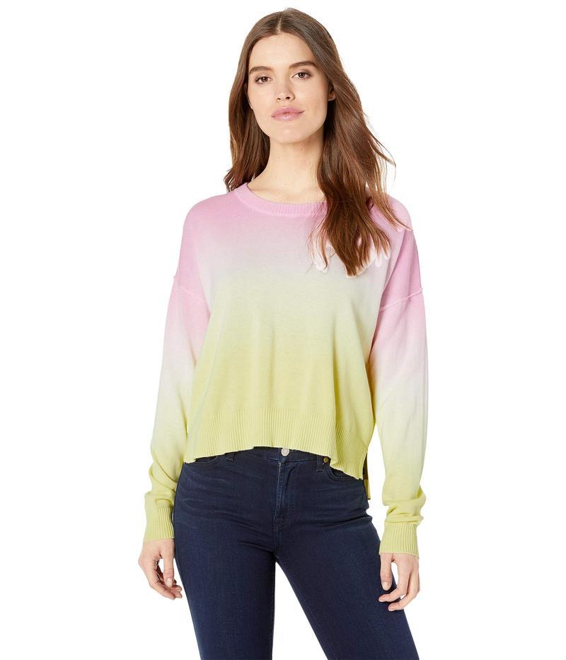 サンクチュアリー レディース ニット・セーター アウター Sunsetter Ombre Sweater Pink Lemonade Cooler