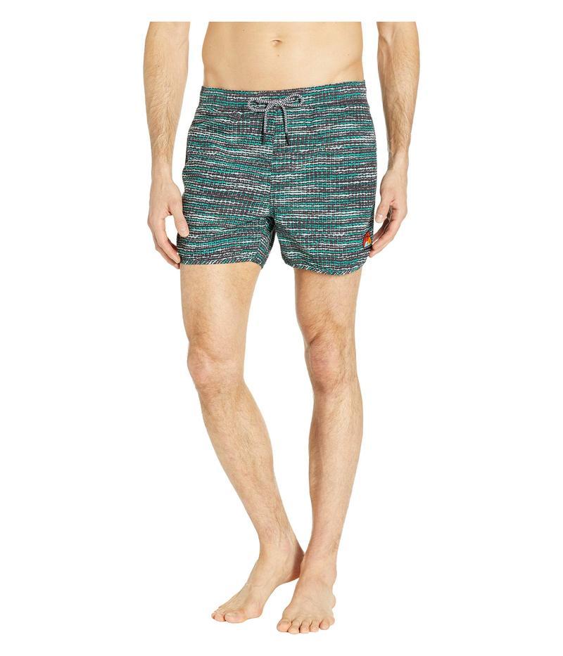 スコッチアンドソーダ メンズ ハーフパンツ・ショーツ 水着 Shorter Length Sporty Swim Shorts with All Over Print Combo B