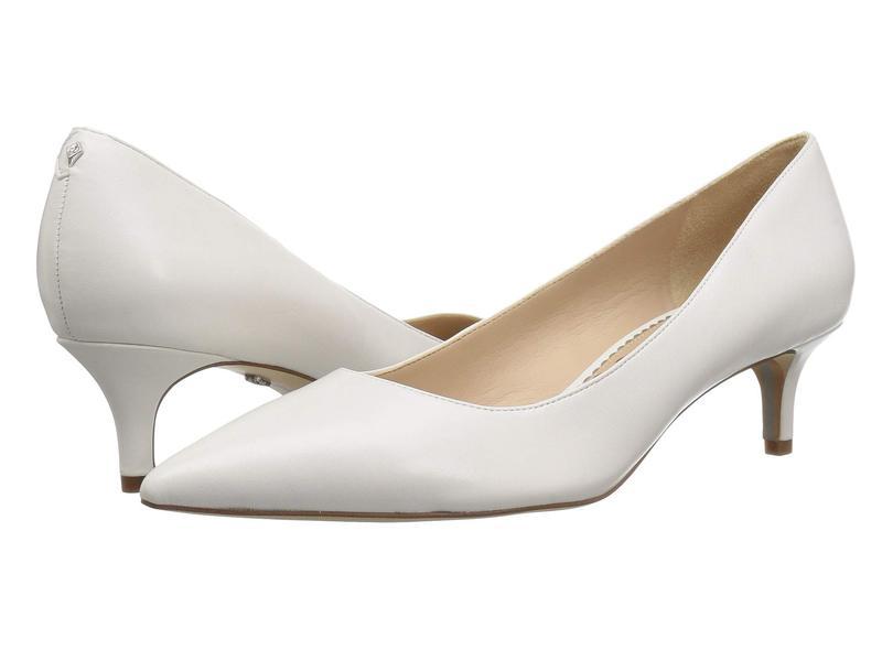 サムエデルマン レディース ヒール シューズ Dori Bright White Dress Nappa Leather