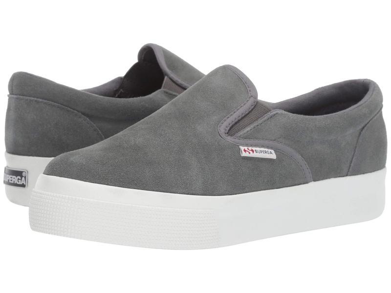 スペルガ レディース スニーカー シューズ 2306 Suew Sneaker Dark Grey Suede