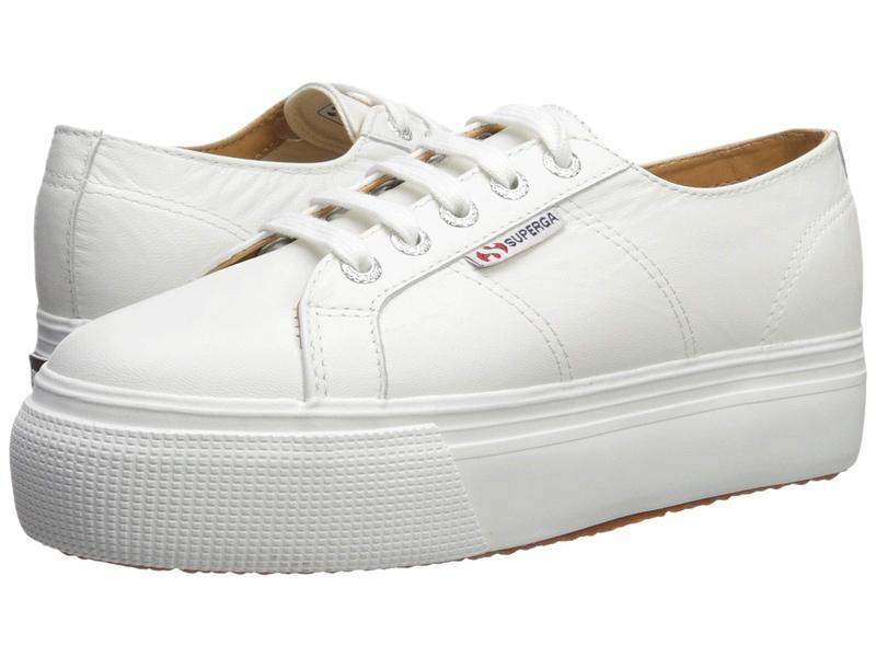 スペルガ レディース スニーカー シューズ 2790 Nappaleaw Sneaker White