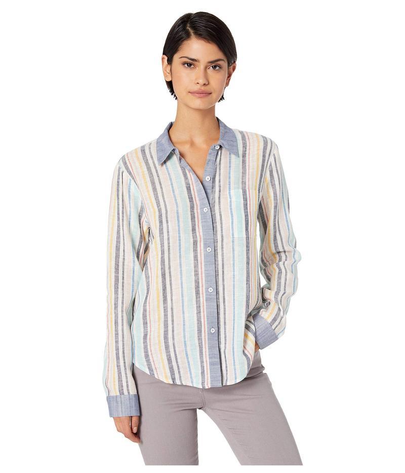 スプレンディット レディース シャツ トップス Playa Stripe Button Down Woven Shirt Playa Stripe