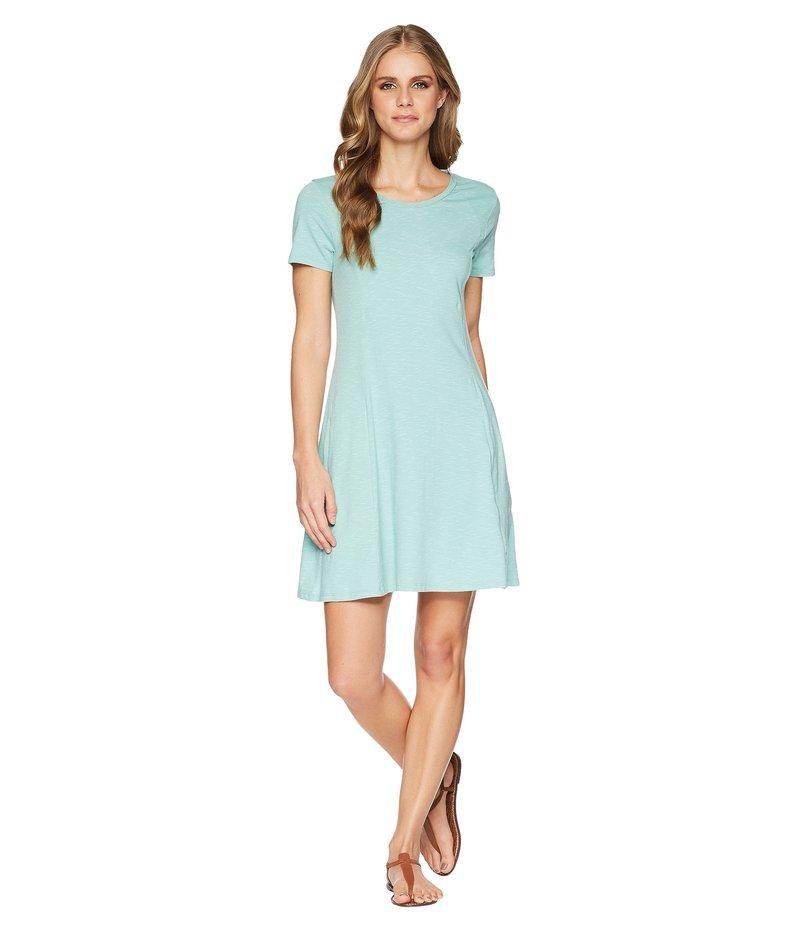 ドード アンドコー レディース ワンピース トップス Windmere Short Sleeve Dress Aquifer