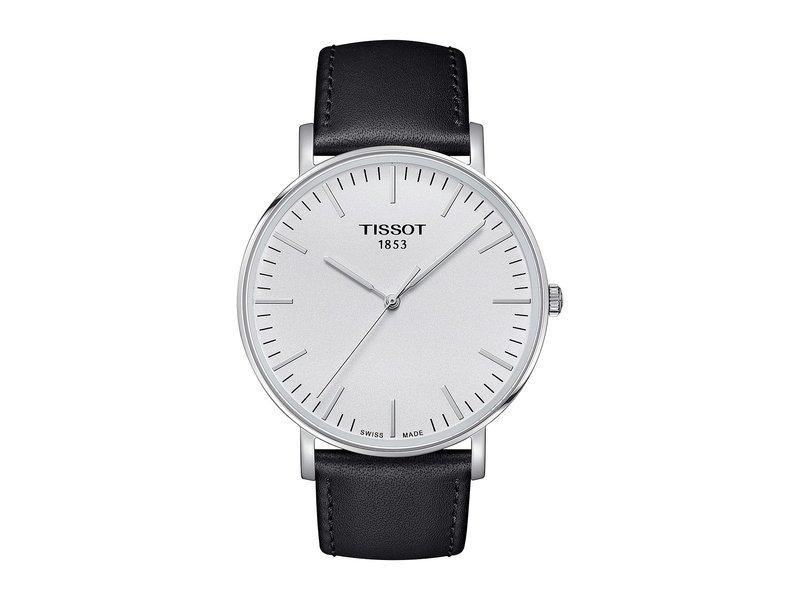 ティソット メンズ 腕時計 アクセサリー Everytime Large - T1096101603100 Silver/Black
