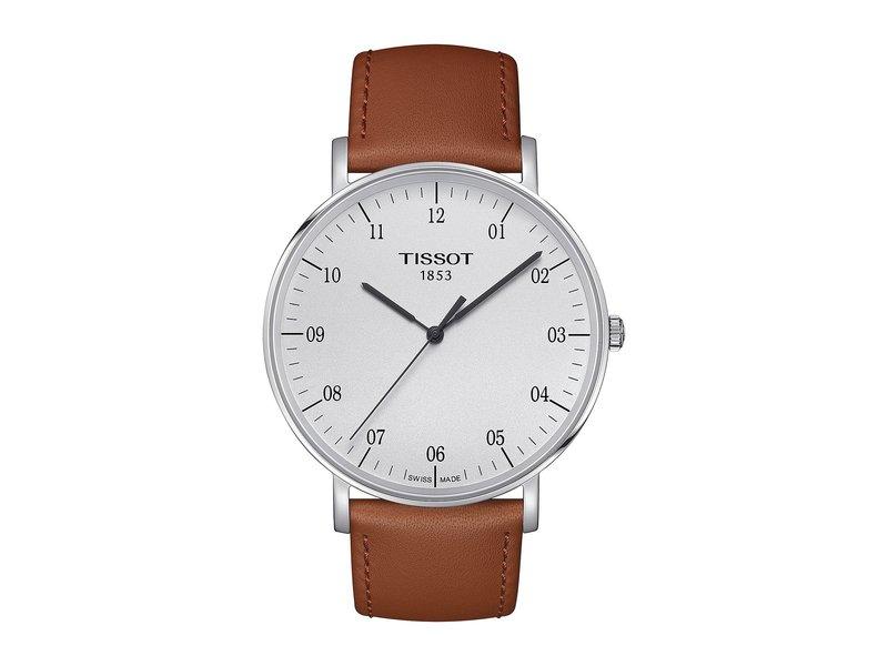 ティソット メンズ 腕時計 アクセサリー Everytime Large - T1096101603700 Silver/Beige
