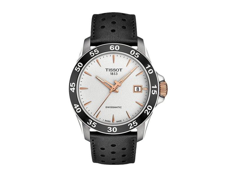 ティソット メンズ 腕時計 アクセサリー V8 Swissmatic - T1064072603100 Silver/Black
