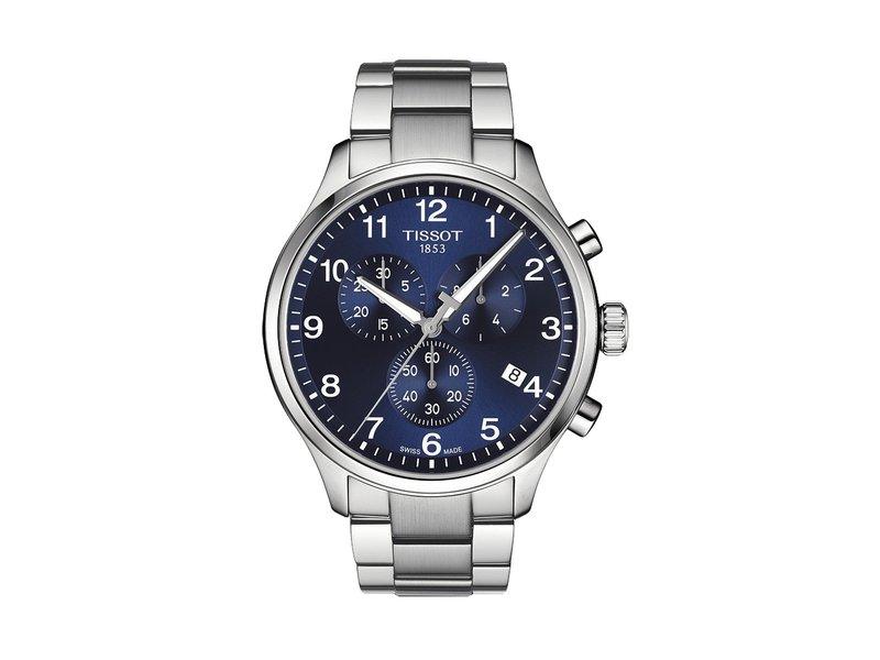 ティソット メンズ 腕時計 アクセサリー Chrono XL Classic - T1166171104701 Blue/Grey