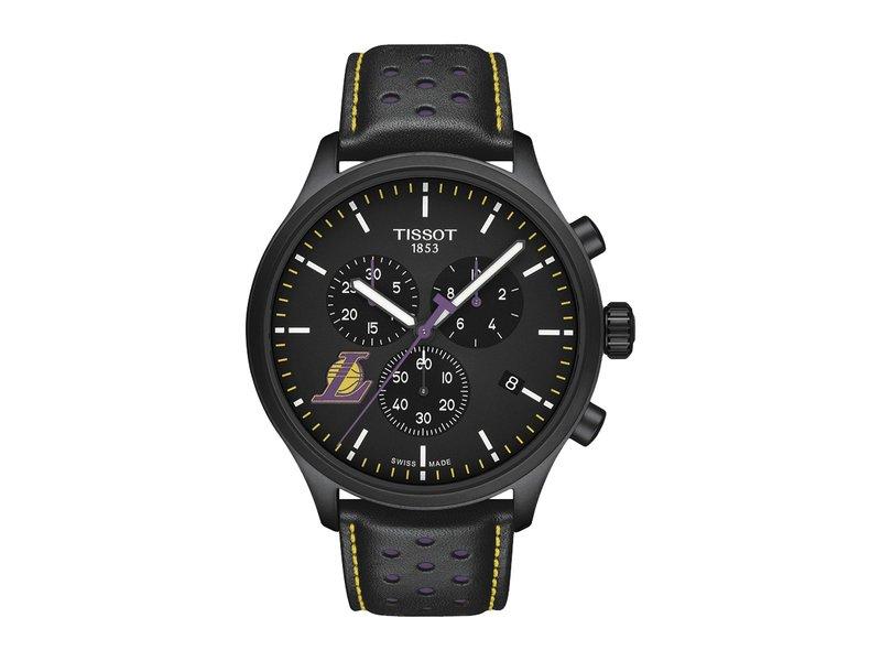 ティソット メンズ 腕時計 アクセサリー Chrono XL NBA Chronograph La Lakers - T1166173605103 Black/Black/Purple