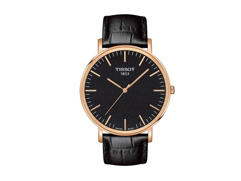 ティソット メンズ 腕時計 アクセサリー Everytime Large - T1096103605100 Black/Black