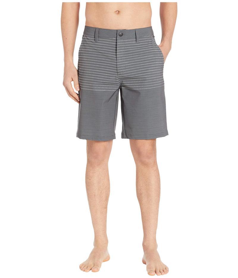バンズ メンズ ハーフパンツ・ショーツ 水着 Authentic Stripe Boardshorts Asphalt
