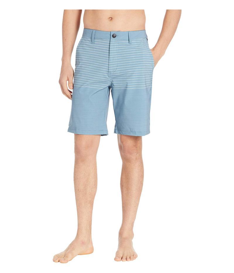 バンズ メンズ ハーフパンツ・ショーツ 水着 Authentic Stripe Boardshorts Bluestone