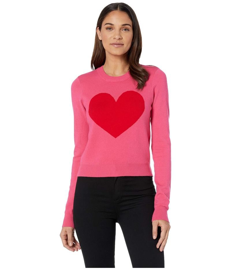 ボルコム レディース ニット・セーター アウター GMJ Heart Sweater Electric Pink