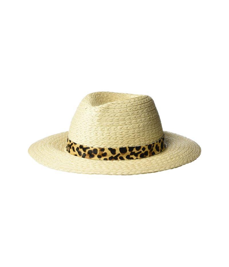 ヴィンスカムート レディース 帽子 アクセサリー Haircalf Banded Panama Natural