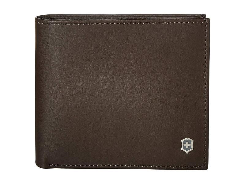 ビクトリノックス メンズ 財布 アクセサリー Altius Edge Pythagoras Deluxe Bifold Organizer w/ RFID Dark Earth Leather