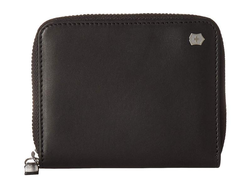 ビクトリノックス メンズ 財布 アクセサリー Altius Edge Weyl Zippered Clutch Wallet w/ RFID Protection Black Leather