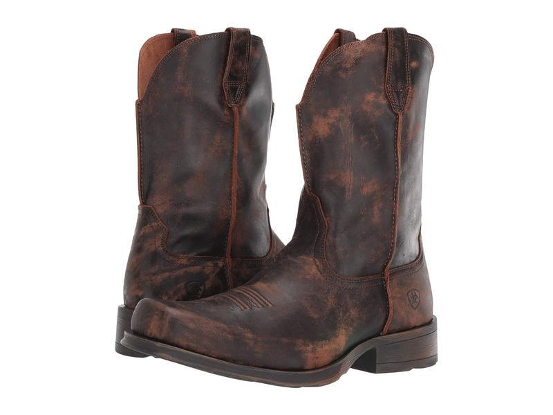アリアト メンズ ブーツ・レインブーツ シューズ Rambler Ultra Naturally Distressed Brown