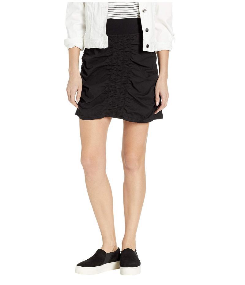 エックスシーブイアイ レディース スカート ボトムス Wearables Solid Trace Skirt Black