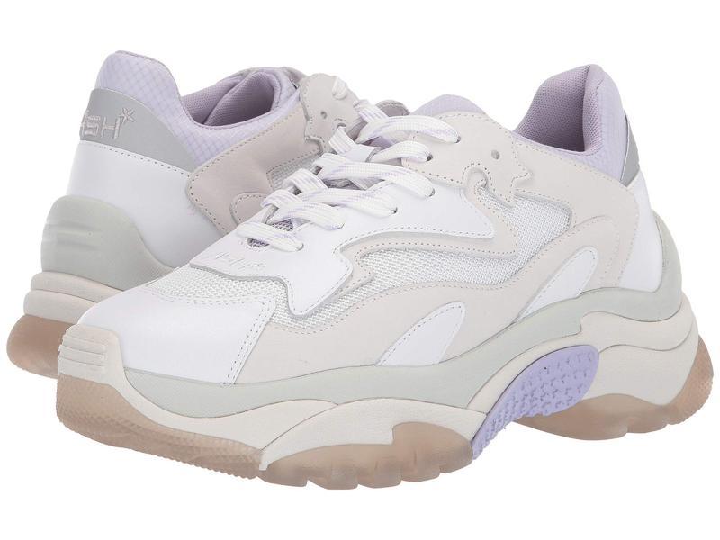 アッシュ レディース スニーカー シューズ Addict White/Lavender/Silver
