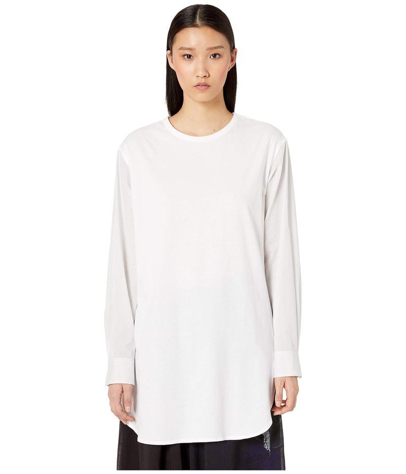 ワイズバイヨウジヤマモト レディース シャツ トップス O-C/S X Woven Long Sleeve Blouse White