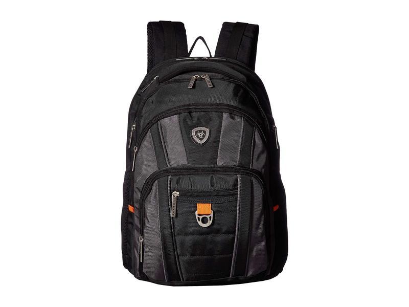 アリアト メンズ バックパック・リュックサック バッグ Businessman Edition Backpack Black