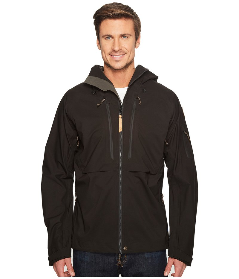 フェールラーベン メンズ Jacket Black コート アウター アウター Keb Eco-Shell Jacket Black, 上之保村:c5937f37 --- vzdynamic.com