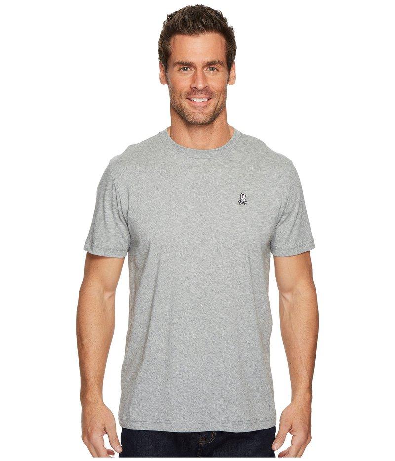 サイコバニー メンズ シャツ トップス Crew Neck T-Shirt Heather Grey