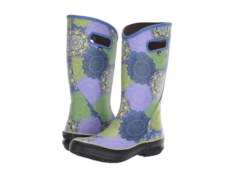 ボグス レディース ブーツ・レインブーツ シューズ Mandala Rain Boot Lavender Multi