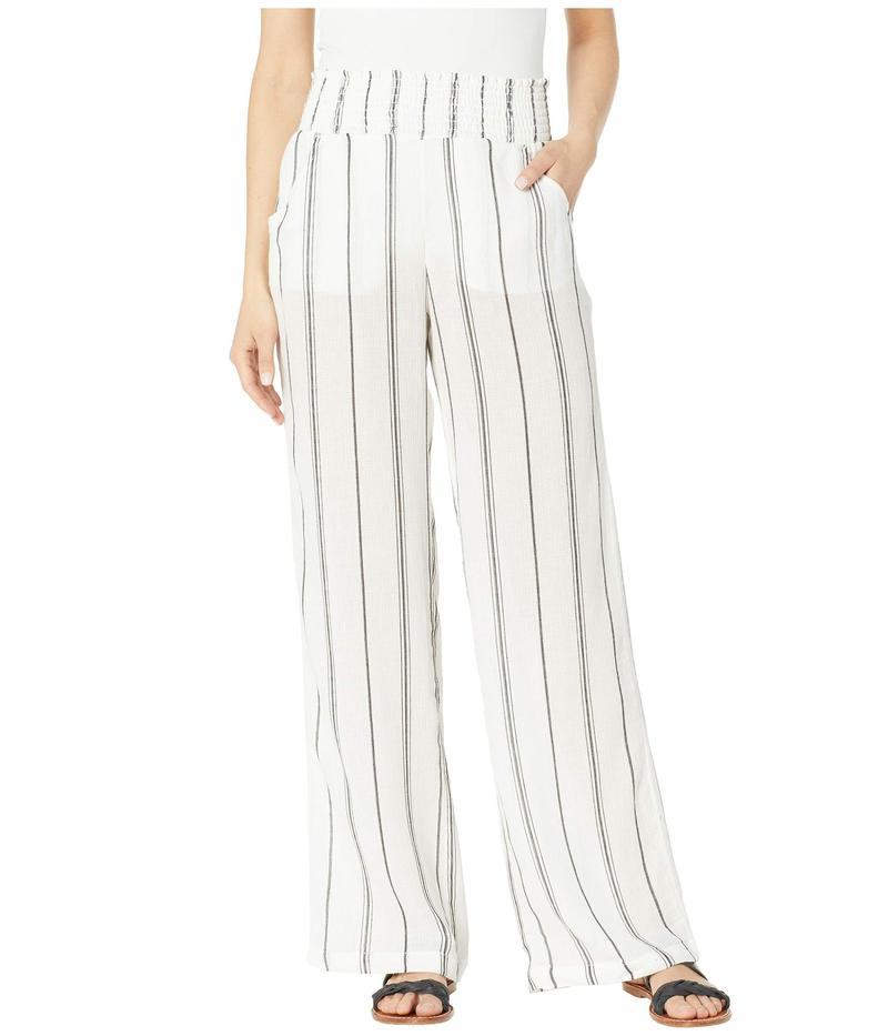 ビラボン レディース カジュアルパンツ ボトムス New Waves Stripe Pants White Stripe