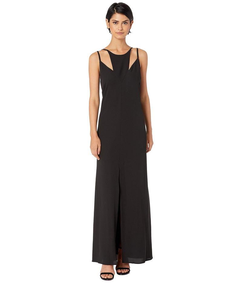 ビーシービージーマックスアズリア レディース ワンピース トップス Cut Out Maxi Dress Black