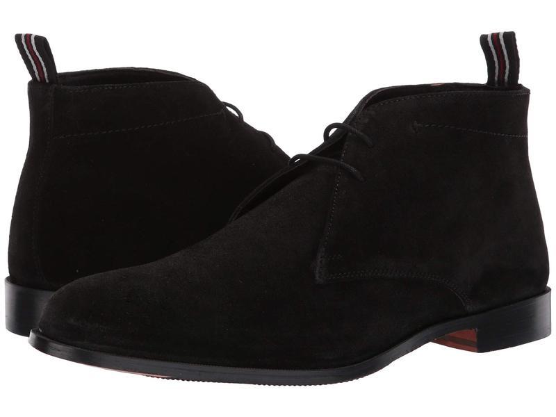 カルロスサンタナ メンズ ブーツ・レインブーツ シューズ Corazon 2.0 Black Calfskin Suede