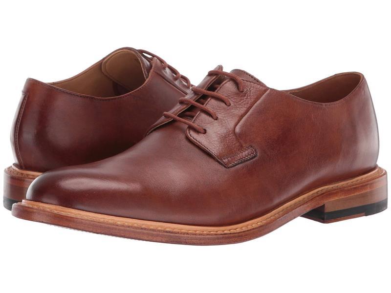 ボストニアン メンズ オックスフォード シューズ No. 16 Soft Low Dark Tan Leather