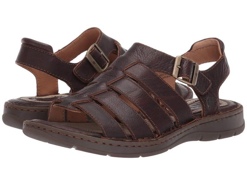 ボーン メンズ サンダル シューズ Wichita Dark Brown Full Grain Leather