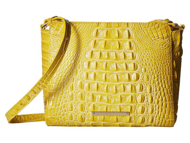 ブランミン レディース ハンドバッグ バッグ Melbourne Carrie Crossbody Bag Sunflower