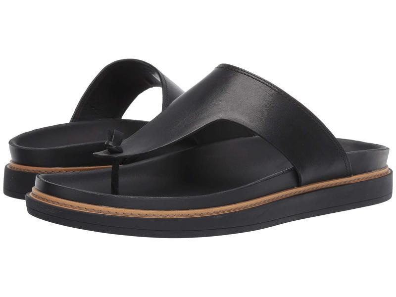 クラークス メンズ サンダル シューズ Trace Sand Black Leather