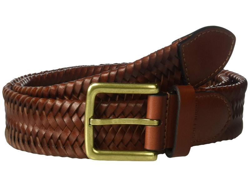 コールハーン メンズ ベルト アクセサリー 35 mm. Stretch Braided Leather Belt British Tan