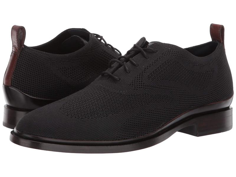コールハーン メンズ オックスフォード シューズ Washington 2.0 Wing Tip Stitchlite Oxford Black/Black Stitchlite