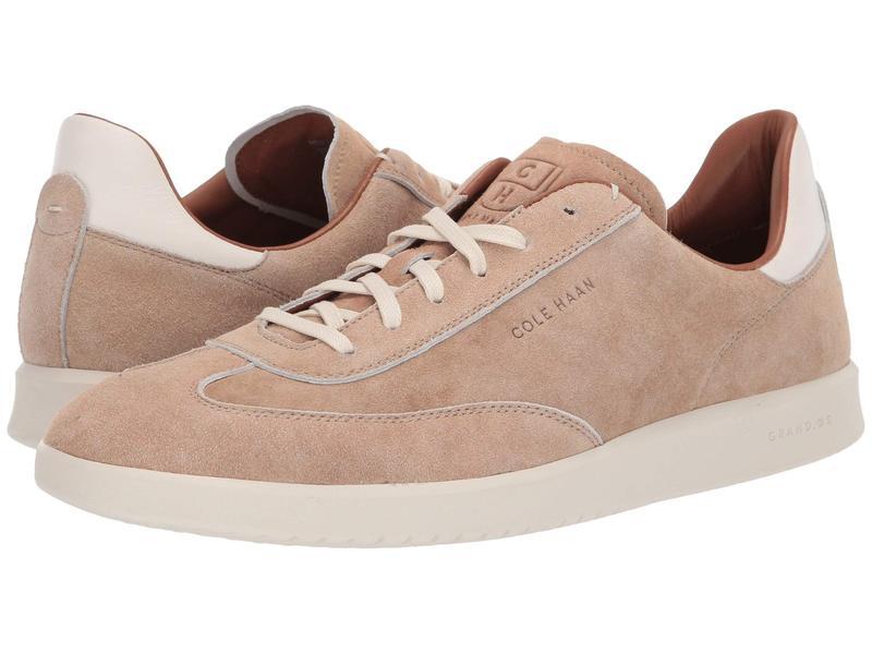 コールハーン メンズ スニーカー シューズ Grandpro Turf Sneaker Dusty Pink Suede