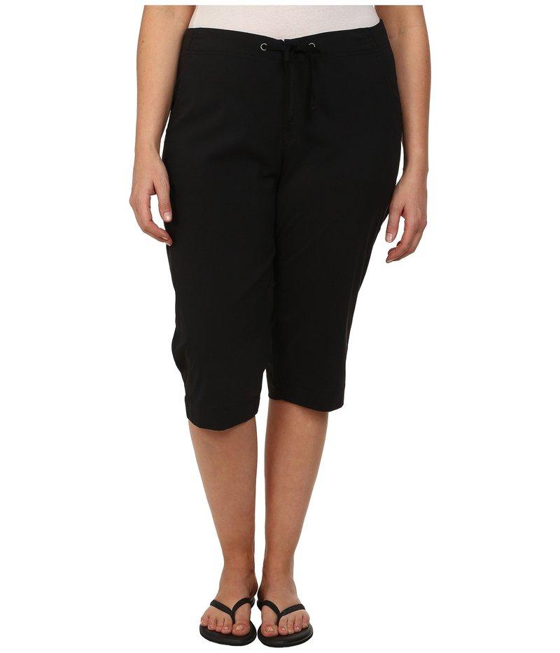 コロンビア レディース カジュアルパンツ ボトムス Plus Size Anytime Outdoor¢ Capri Black