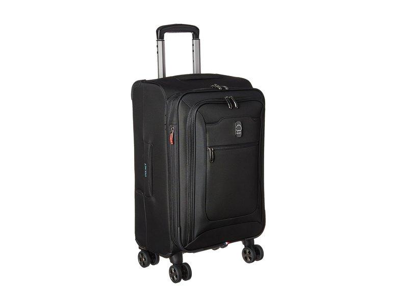 デルシー メンズ ボストンバッグ バッグ Hyperglide Expandable Spinner Carry-On Black