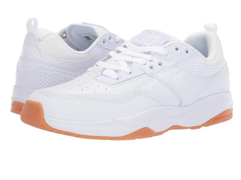 ディーシー メンズ スニーカー シューズ E. Tribeka White/Gum