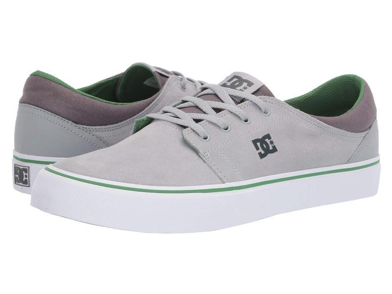 ディーシー メンズ スニーカー シューズ Trase SD Grey/Green/Grey