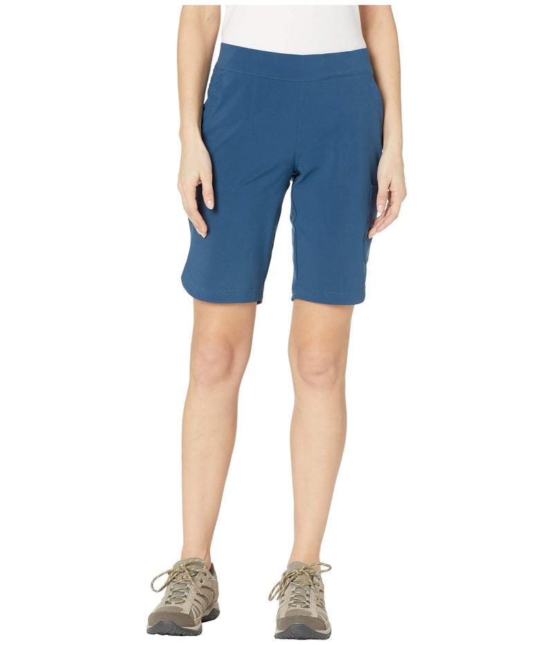 コロンビア レディース ハーフパンツ・ショーツ ボトムス Place To Place¢ Long Shorts Petrol Blue
