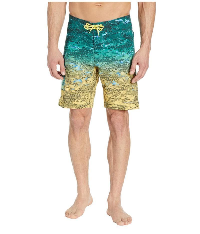 コロンビア メンズ ハーフパンツ・ショーツ 水着 PFG Offshore II 9 inch Board Shorts Dorado Digi Camo Fade