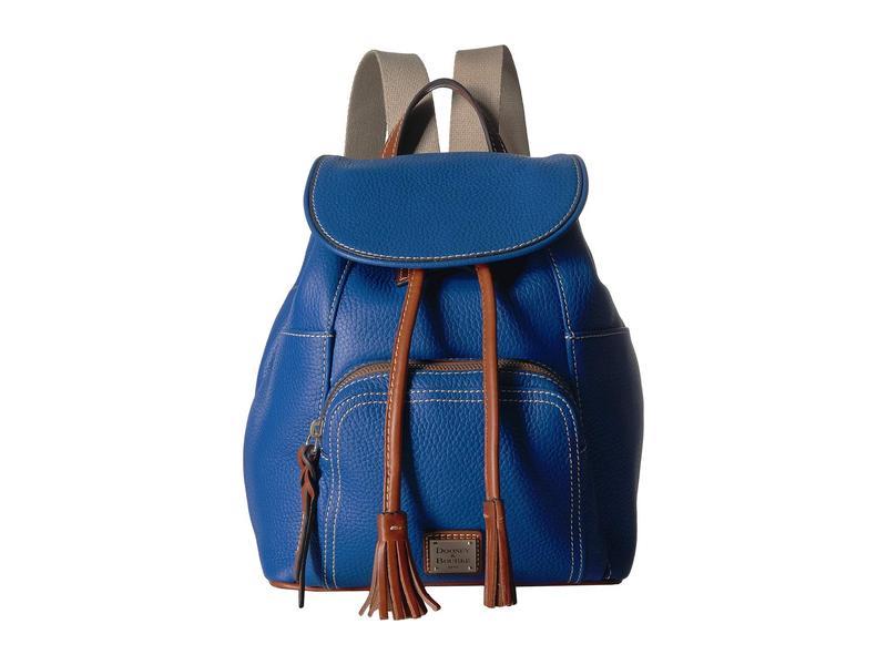 ドーネイアンドバーク レディース バックパック・リュックサック バッグ Pebble Medium Murphy Backpack French Blue/Tan Trim